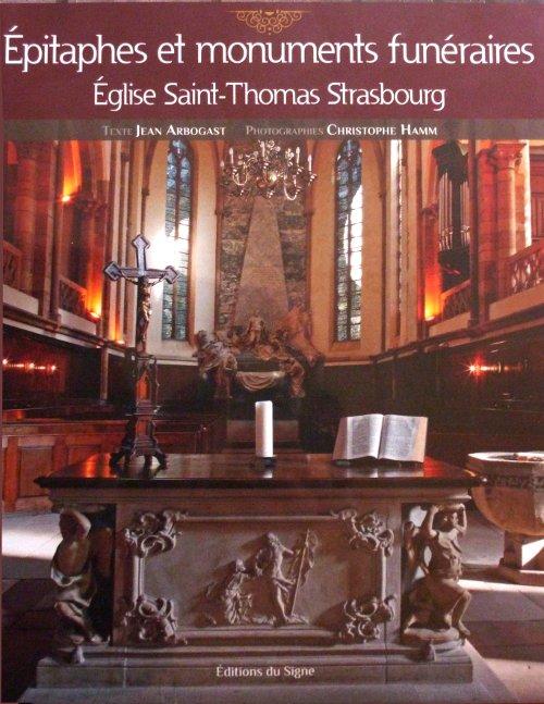 livre épitaphes Saint-Thomas