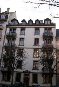 location appartement Strasbourg avenue forêt noire